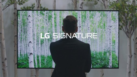 IFA 2017 : LG SIGNATURE OLED TV W