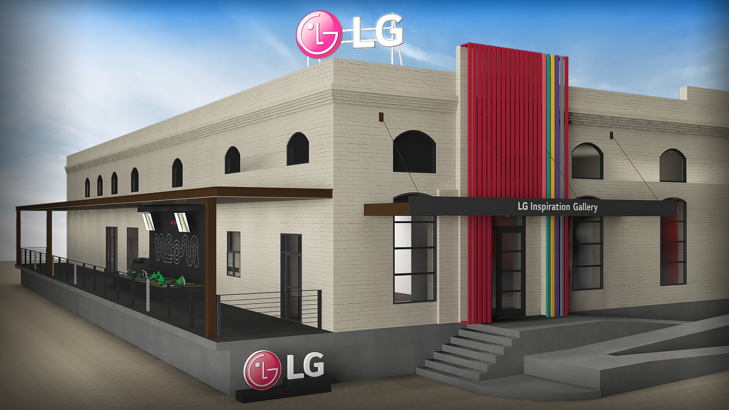 Image of the LG Inspiration Gallery at South by Southwest® (SXSW®) Texas.