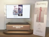 [BEYOND NEWS] LG OLED TV HIGHLIGHTS FINE DETAILS OF KOREAN EMBROIDERY AT UNESCO EXHIBITION