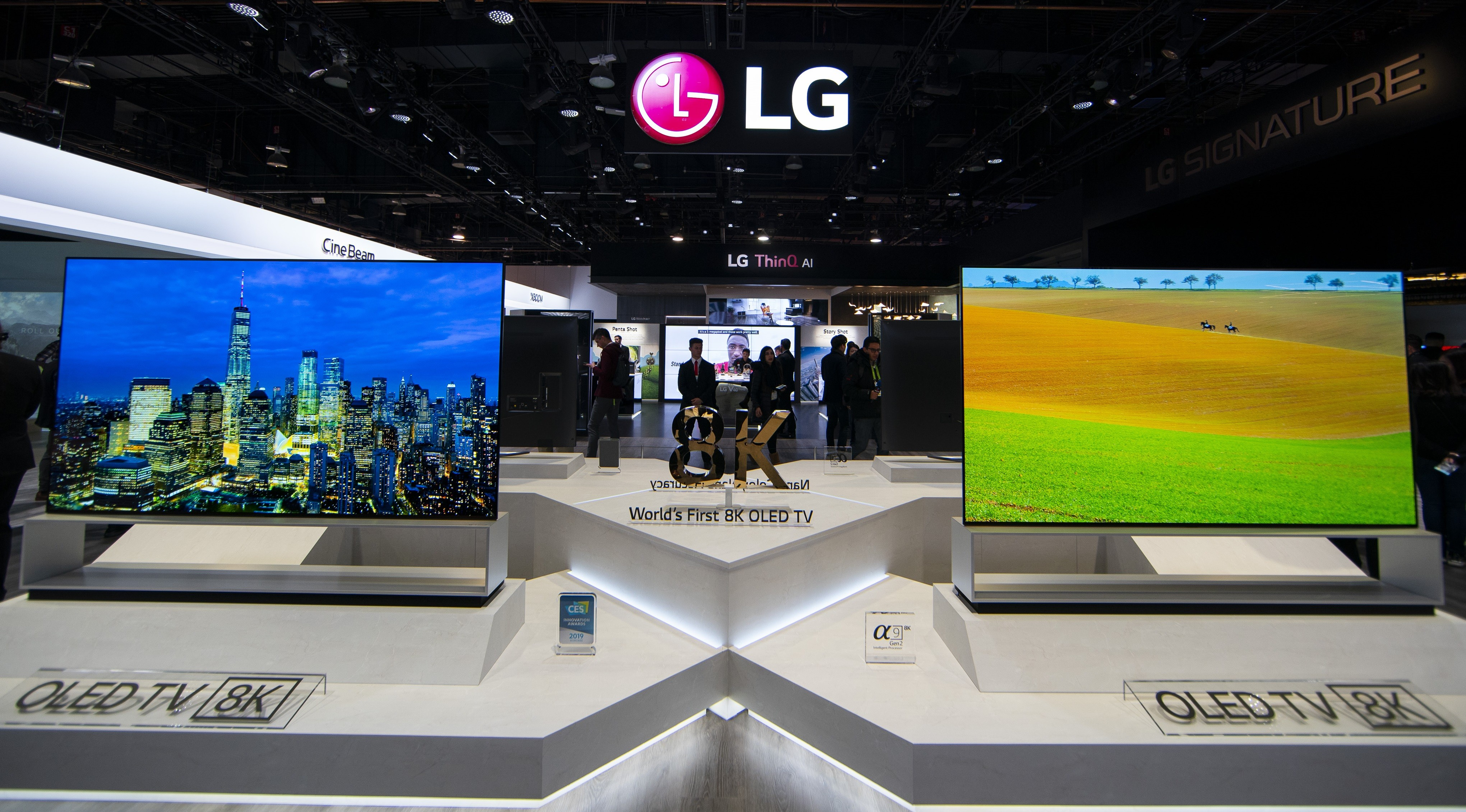 LG ANNOUNCES START OF SALES OF WORLD'S FIRST 8K OLED TV   LG Newsroom