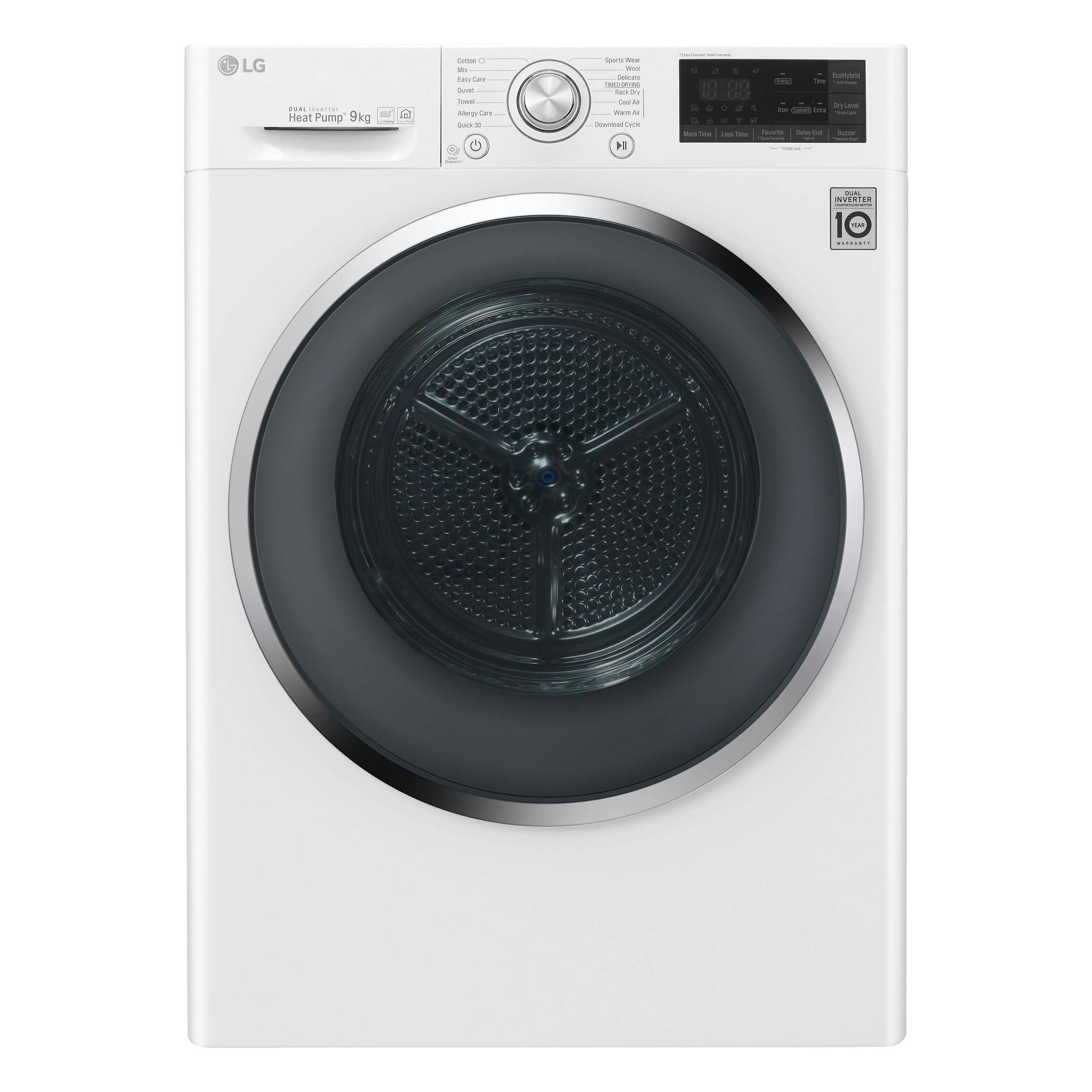 LG DUAL Inverter Heat Pump Dryer