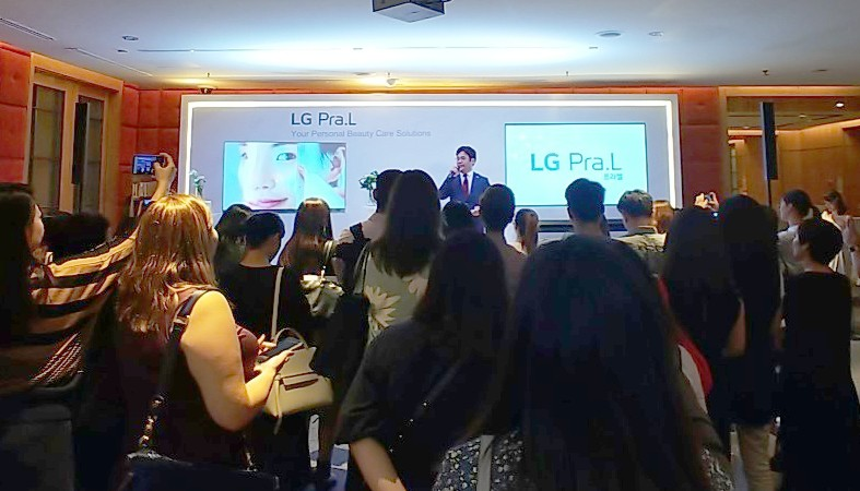 A snapshot of LG Singapore's media tour for the LG Pra.L