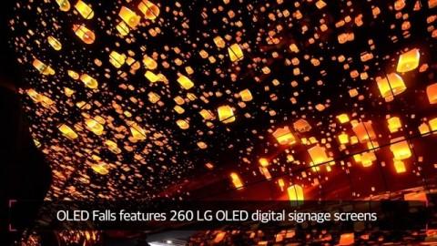 CES 2019 : LG OLED FALLS
