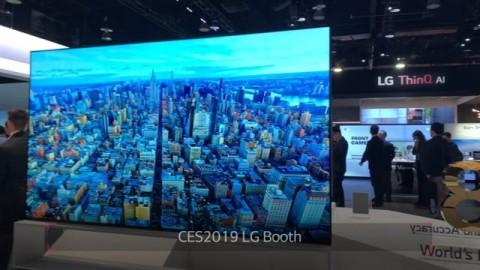 CES 2019 : LG 8K OLED TV