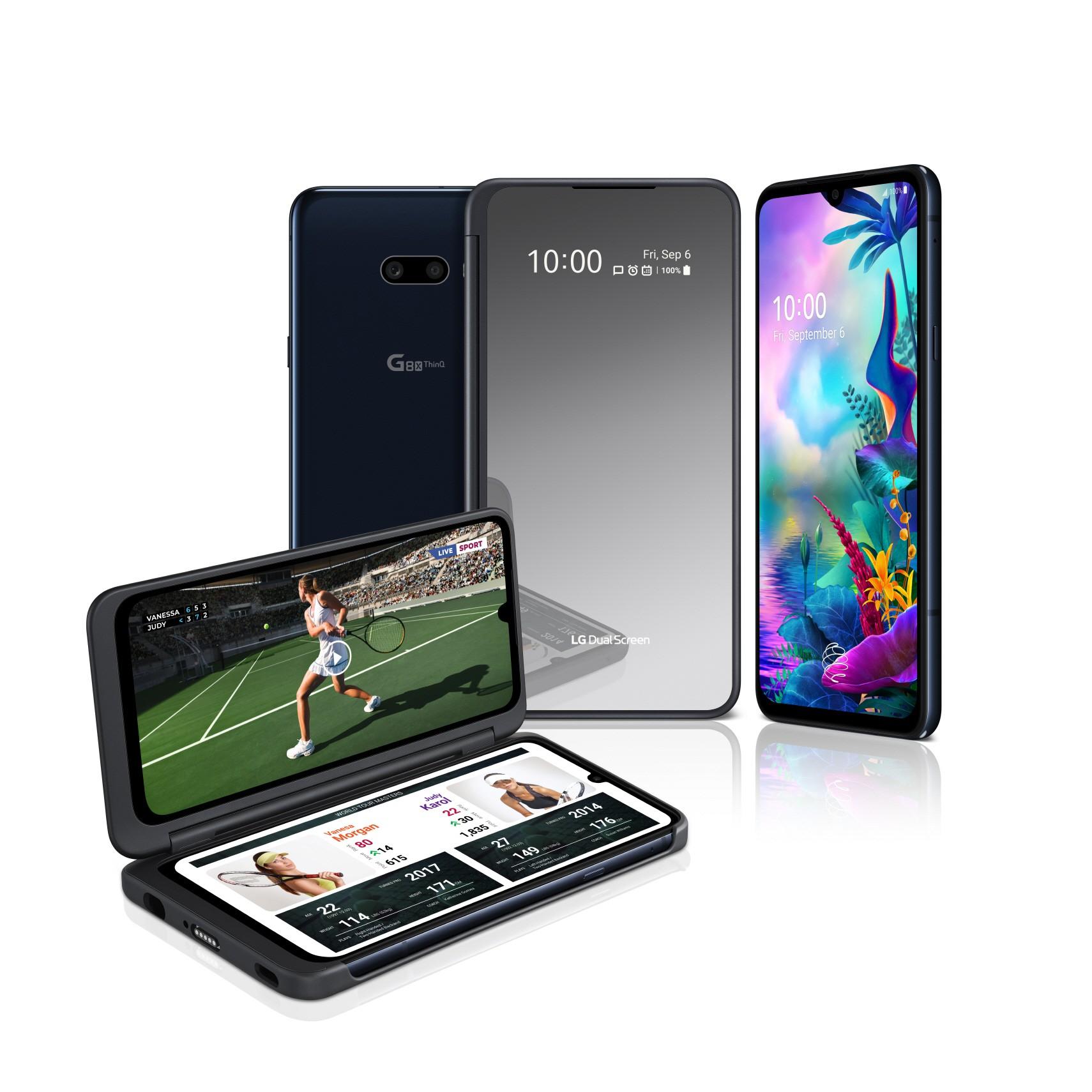 LG G8X THINQ AND NEW LG DUAL SCREEN ENHANCE MOBILE