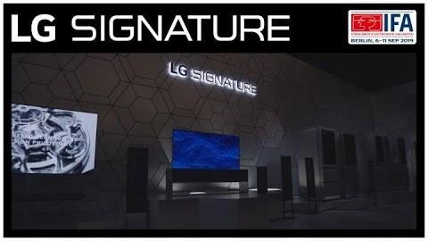 IFA 2019 : LG SIGNATURE