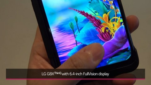 LG G8X THINQ AT IFA 2019