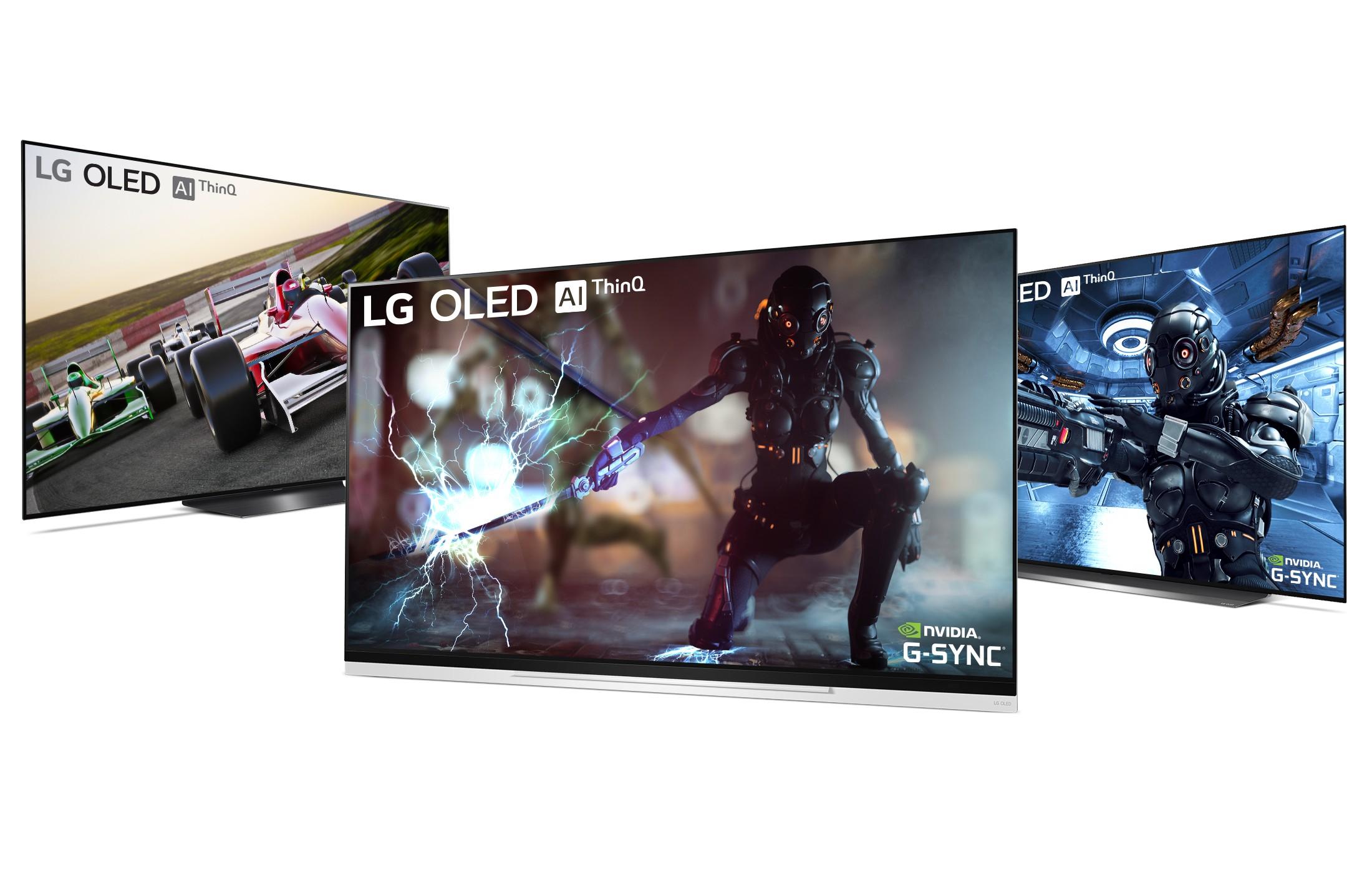 NVIDIA G-SYNC on LG OLED TV models E9, C9 and B9.