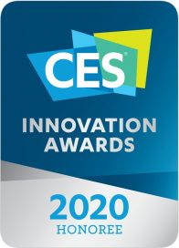 Logo of CES Innovation Awards 2020 – Honoree