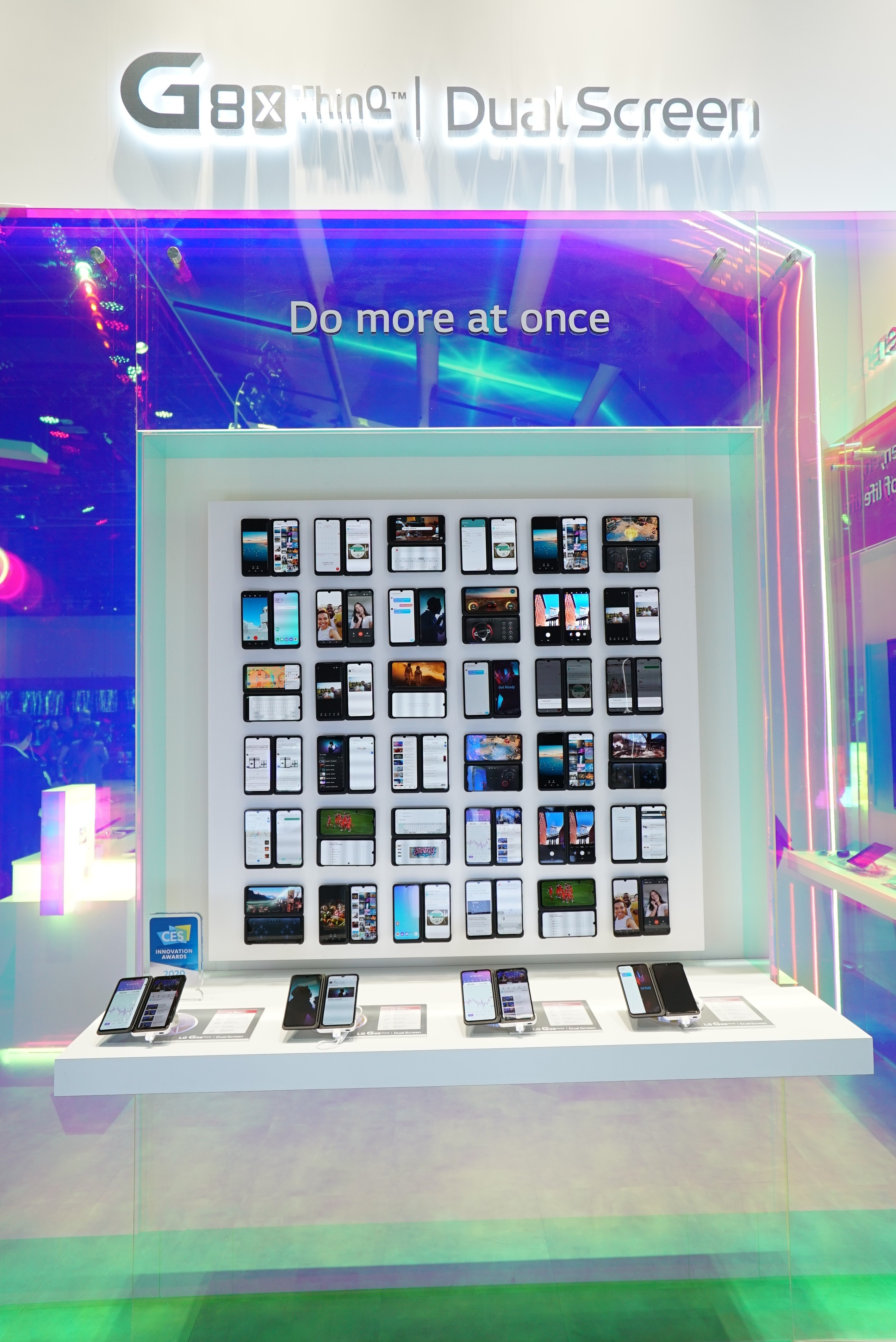 CES 2020 DUAL SCREEN ZONE 1_