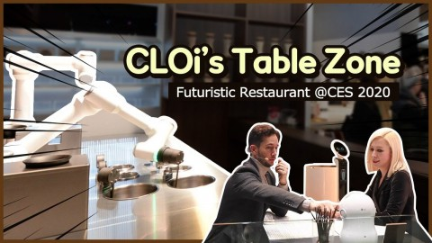 CES 2020 : CLOI'S TABLE ZONE