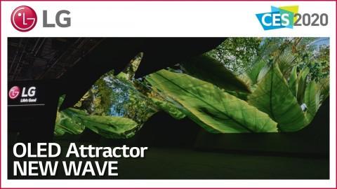 CES 2020 : LG OLED NEW WAVE