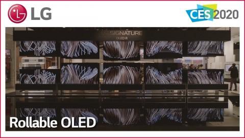 CES 2020 : LG SIGNATURE OLED R