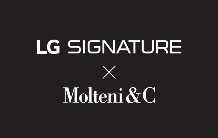 Logo of the LG SIGNATURE and Molteni&C collaboration