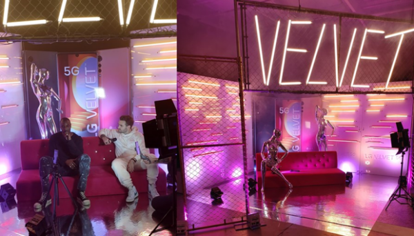 The event aired on LG Canada's Instagram Live using LG VELVET and with Canadian rapper Sean Leon hosting.