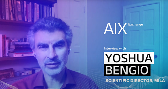 A photo of Yoshua Bengio, the 2019 Turing Award-winning AI researcher and founder of Mila