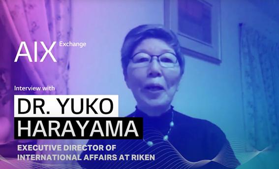 A photo of Dr. Yuko Harayama, executive director of International Affairs at Riken