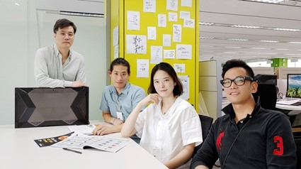 The product designers who helped develop LG MAGNIT