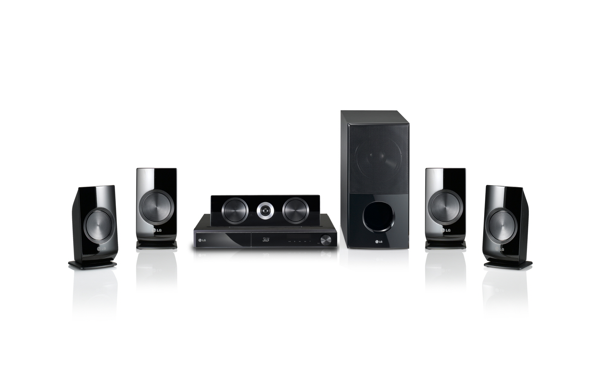 LG Full HD 1080p 3D-enabled Network Blu-ray Home Theater System model LHB336