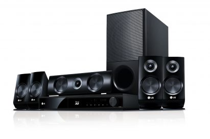 LG Full HD 1080p 3D-enabled Network Blu-ray Home Theater System model LHB526