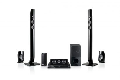 LG's flagship Full HD 1080p 3D-enabled Network Blu-ray Home Theater System model LHB976