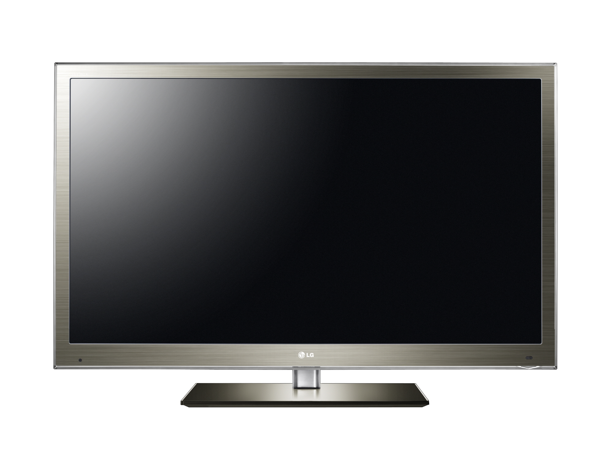 A front view of LG Full HD HDTV INFINIA model LW7700