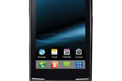 Front view of LG Optimus Net