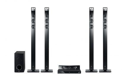 LG CINEMA 3D Sound HTS model HX906TX