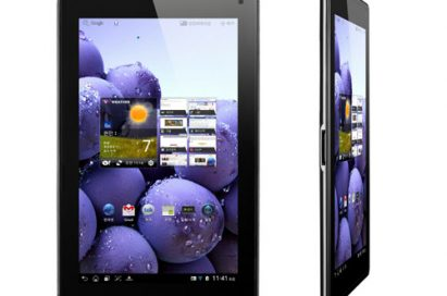 Front and 15-degree views of LG Optimus Pad LTE