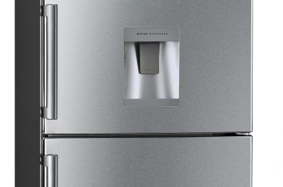 A front view of LG's Botton Freezer Refrigerator