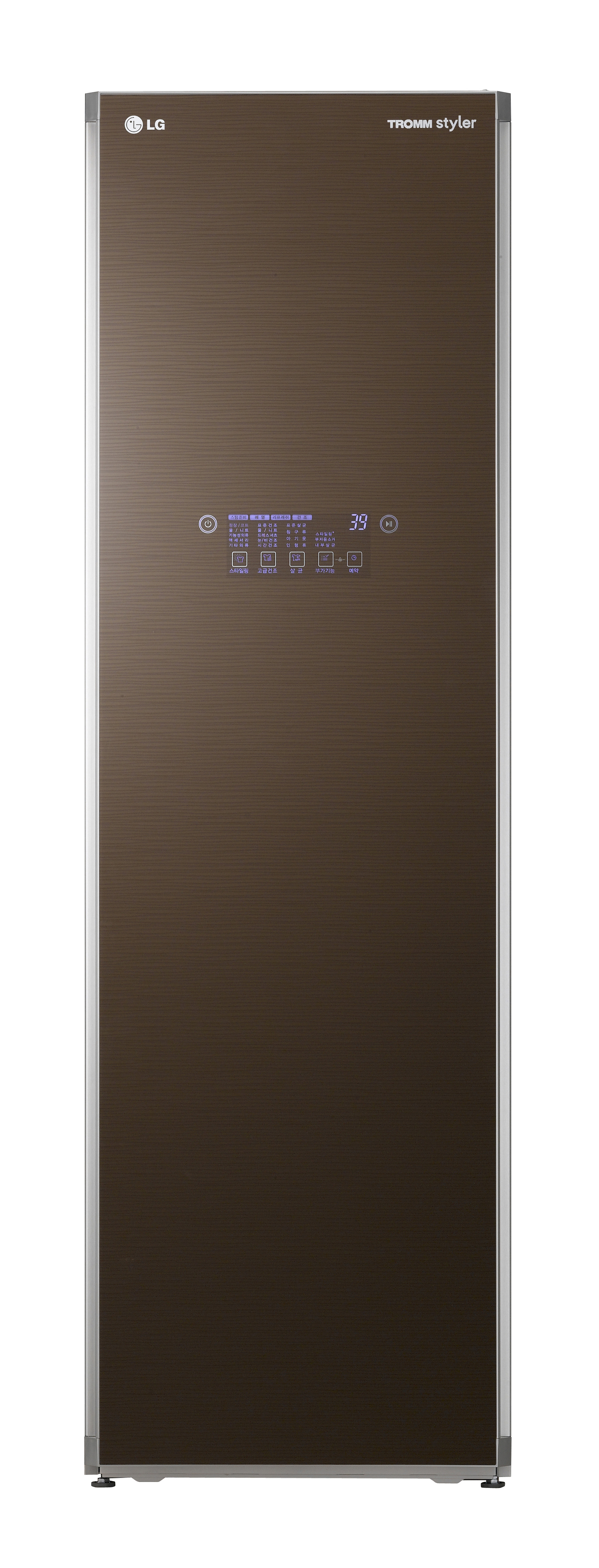 A front view of the LG Styler