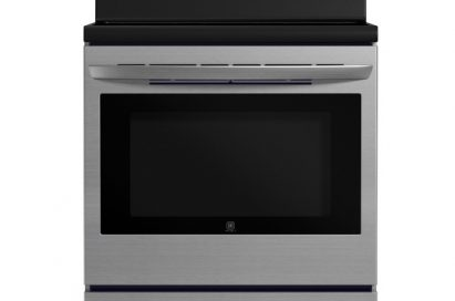 A front view of the LG range (model LRE3023S)
