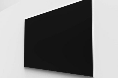 100-inch projection screen