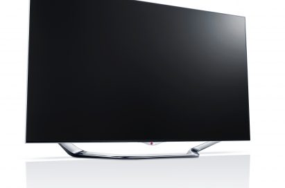 A left-side view of LG IPS monitor ColorPrime model EA83