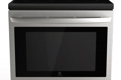 Front view of LG's smart oven