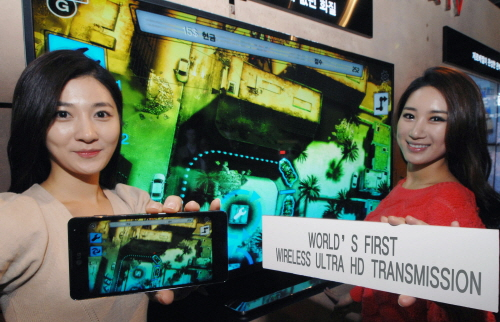 Two models introduce the world's first wireless Ultra HD Transmission technology
