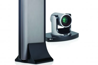 A left-side view of LG video conference system model VR5010H