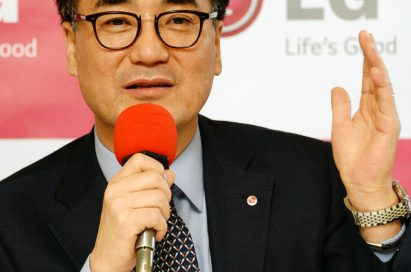 Mr. Kwon Hee-Won, president and CEO of LG Electronics' Home Entertainment Company, speaking at IFA 2013