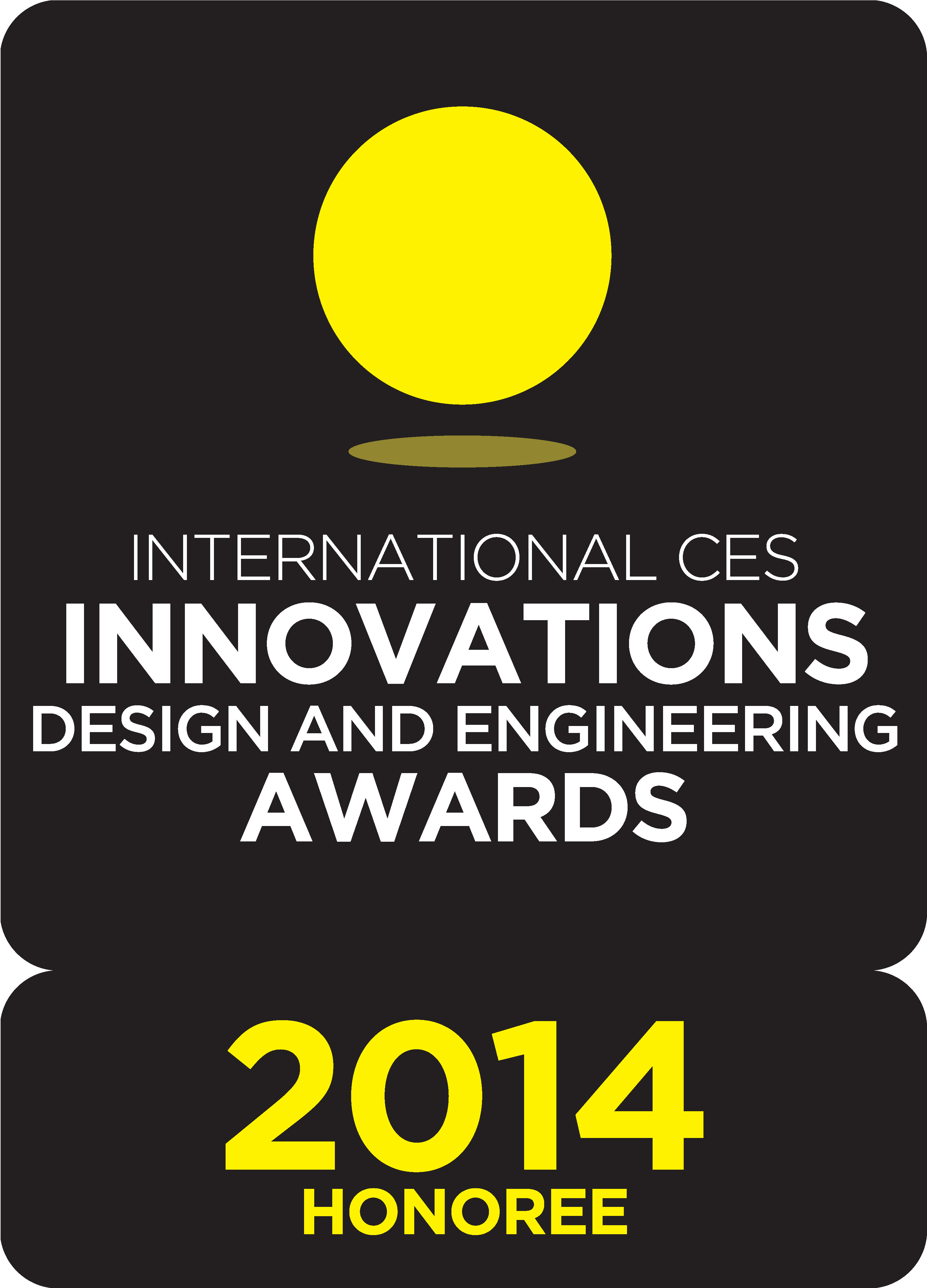 Logo of International CES® Innovations Awards 2014 for honoree