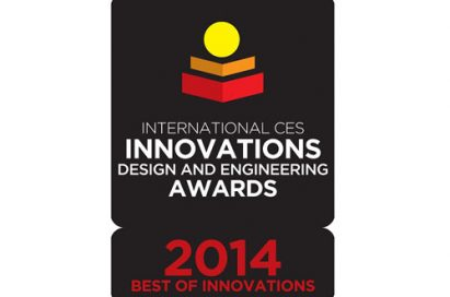 Logo of the International CES® Innovations Awards 2014 for best of innovations