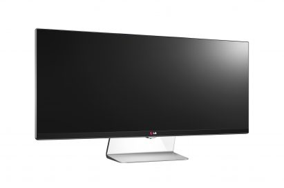 Front view of the LG IPS 21:9 UltraWide model UM95