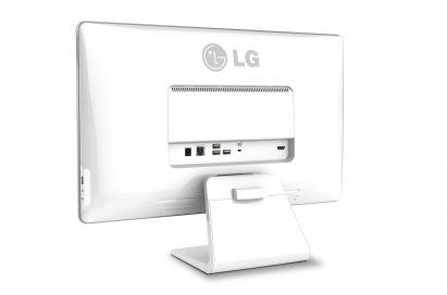 Rear view of LG Chromebase model 22CV241