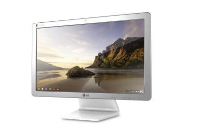 Right-side view of LG Chromebase model 22CV241