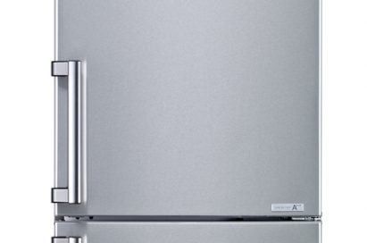Front view of LG refrigerator with Inverter Linear Compressor