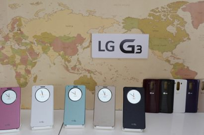 LG G3 comes in five colors.