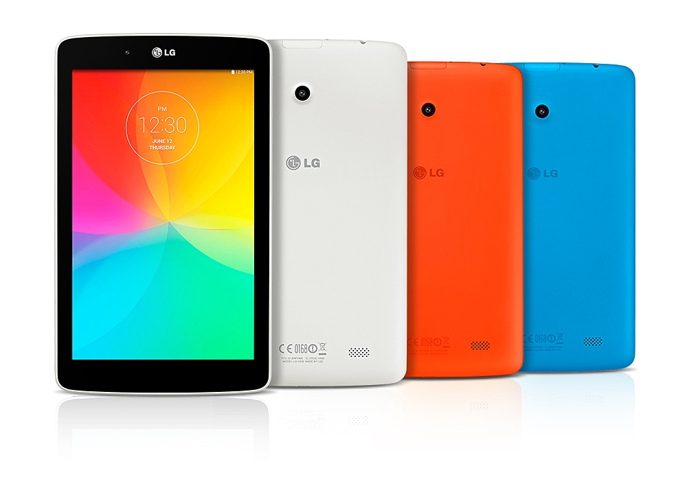 LG Launches New G Pad Tablet Series