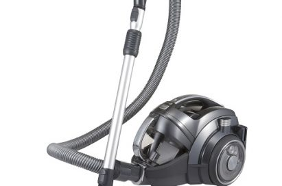 Front view of LG CordZero™, a cordless canister vacuum cleaner