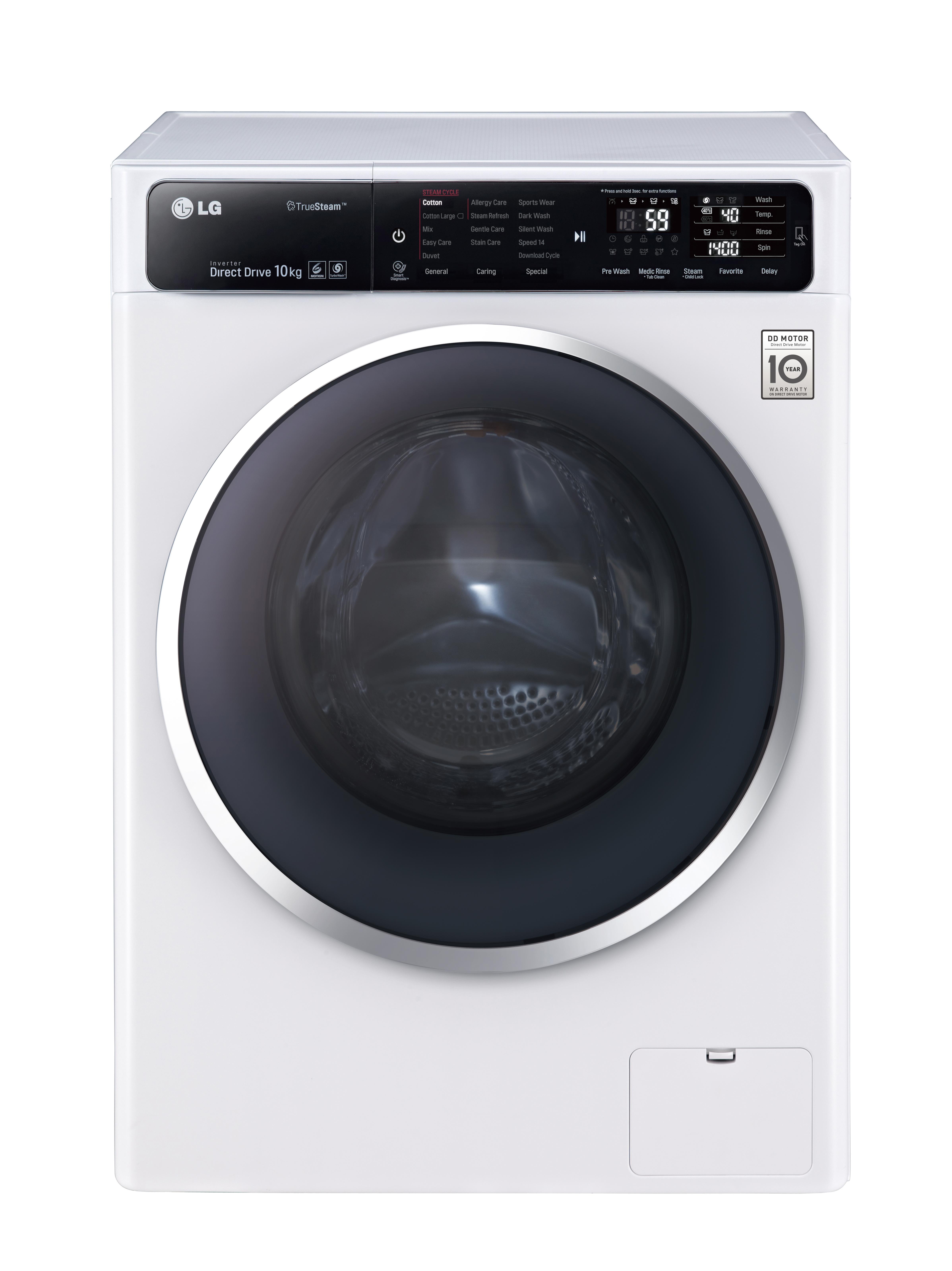 LG'S LATEST WASHING MACHINES PRIORITIZE TIME AND ENERGY ... on Washing Machine  id=98164