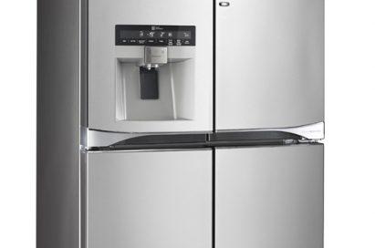 LG Multi-Door refrigerator with water dispenser (GMJ916NSHV)
