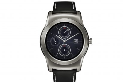 A front view of LG Watch Urbane in silver color